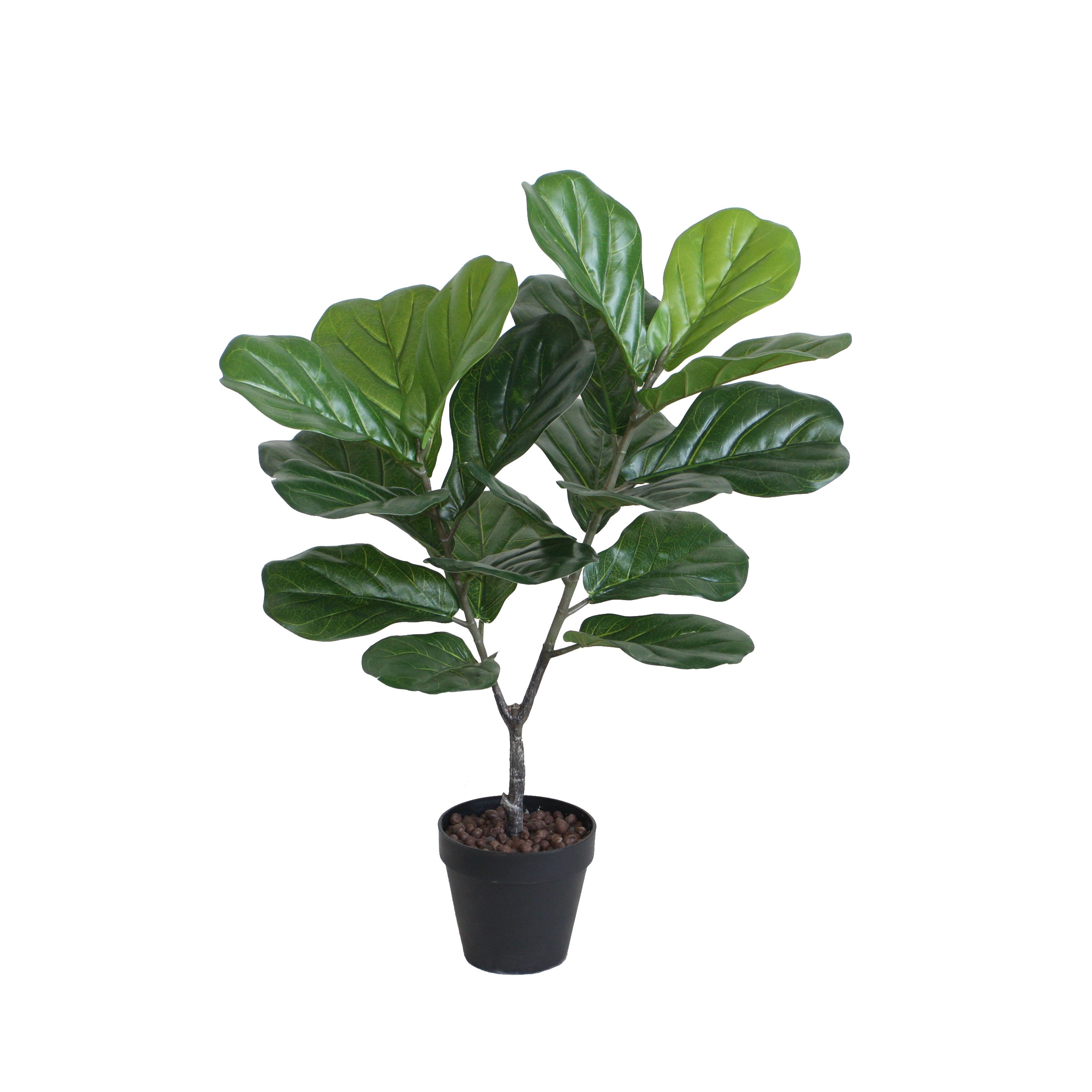 ARTIFICIAL FIDDLE LEAF TREE 70CM
